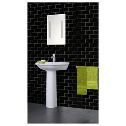 Arthouse Romano brick black wallpaper