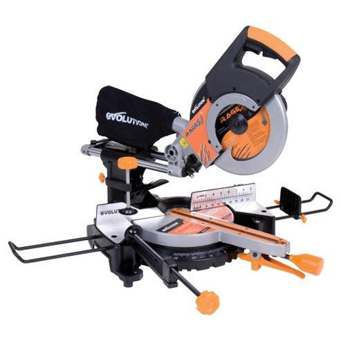 Evolution RAGE3 Multipurpose Sliding Mitre Saw (Orange)
