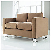 Loft Small Fabric Sofa, Fawn