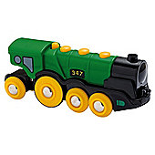 Brio Classic Accessory Big Green Action Locomotive, wooden toy