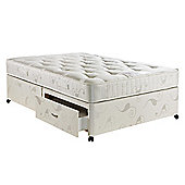 Hush Charleston Luxury Pocket King 2 Drawer Divan Bed