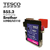Tesco LC980 Magenta Printer Ink Cartridge (for Brother LC-980 Magetna )