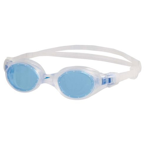 Speedo Pacific Storm Adult Swimming Goggles, White