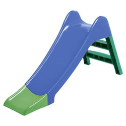 Tesco Junior Slide, Blue/Green
