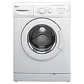 Beko WM6111W Washing Machine, 6kg Wash Load, 1100 RPM Spin, A+ Energy Rating. White