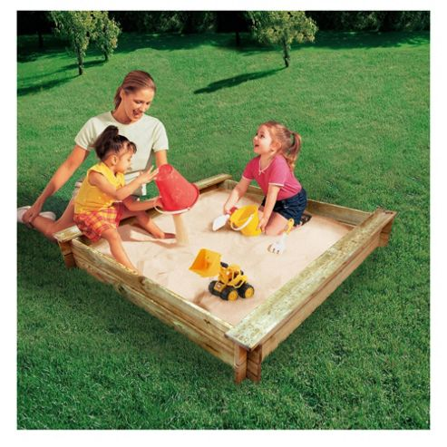 Little Tikes Wooden Sandpit