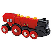 Brio Classic Accessory Mighty Red Action Locomotive, wooden toy