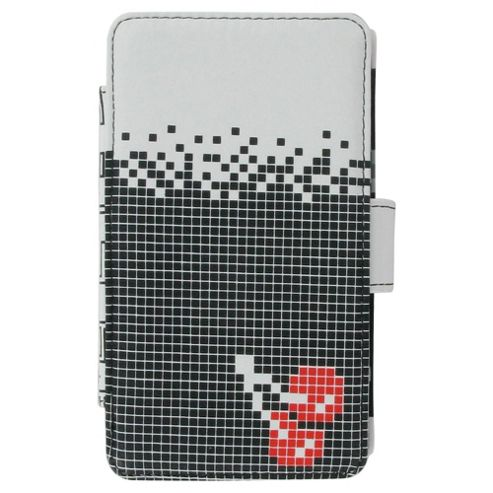 Joystick Junkies Black/White Pixel Cherry Nintendo DSi Play Case