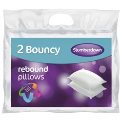 Slumberdown Rebound Pillows 2 Pack