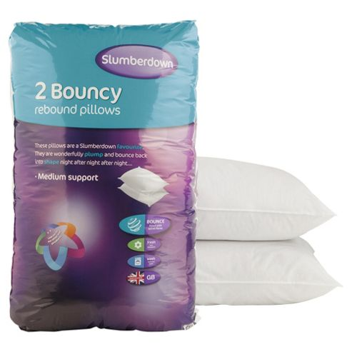 Slumberdown Bouncy Pillow Twinpack