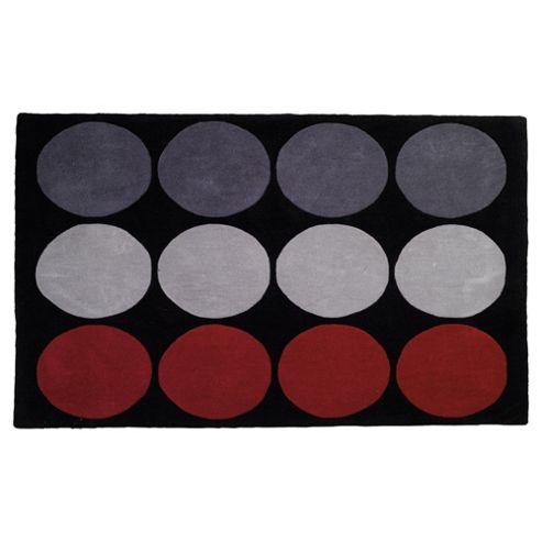 Tesco Rugs circles rug 150x240cm fuchsia