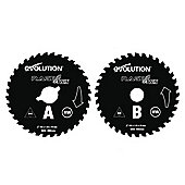 Evolution RAGE Twin 155mm TCT Blades (Orange)