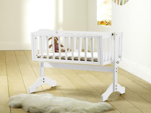 Saplings Bethany Crib, White