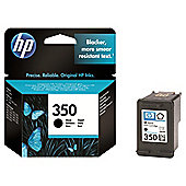 HP 350 Printer Ink Cartridge - Black (CB335EE)
