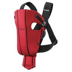BABYBJORN Baby Carrier Original, Spirit Red Heart, Cotton