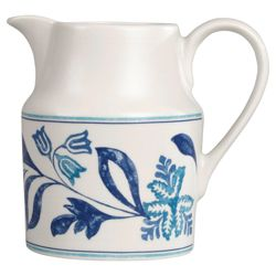 Johnson Bros 0.9L Blue Fern Jug
