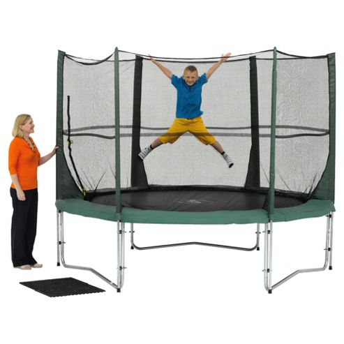 Plum 10ft Trampoline and 3G Enclosure