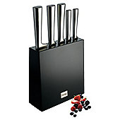Prestige Stainless Steel 6 Piece Knife Block Set
