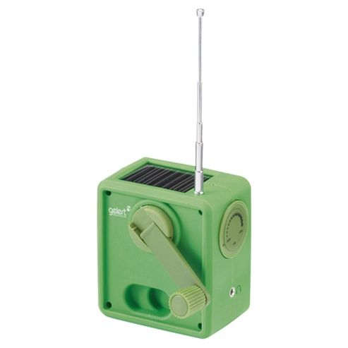 Gelert Wind Up/Solar Power Radio