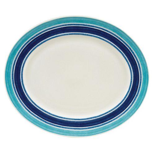 Johnson Bros 35cm Blue Stripe Oval Platter