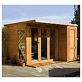 Mercia 10x8 Large Combi Summerhouse