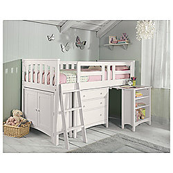 Harvey Sleep Station Left Hand Ladder, Natural White