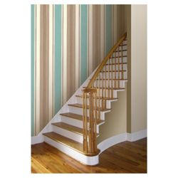 Arthouse Adelphi stripe teal wallpaper