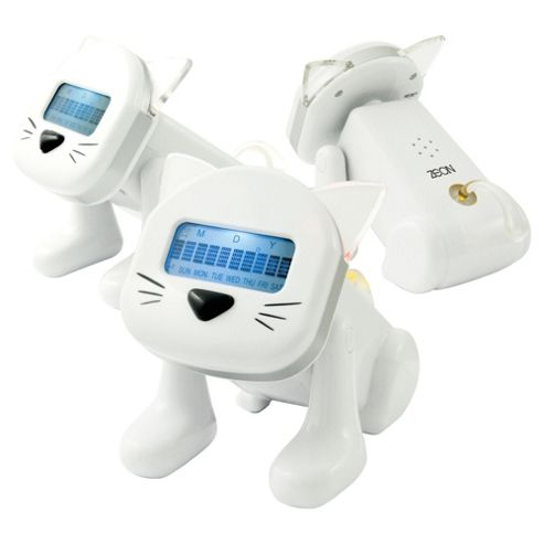 Zeon Tech Smart Cat LCD Alarm Clock