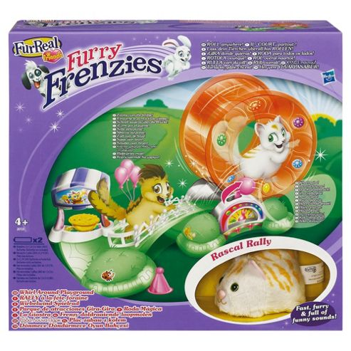 FurReal Furry Frenzies Themed Whirl Around Playground Playset