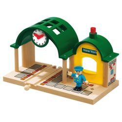 Brio Classic Accessory Speaking Station Wooden Toy