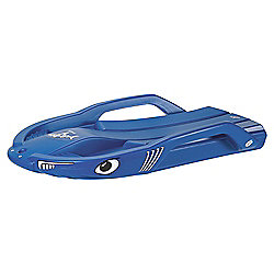 Rolly Snow Shark Sledge, Blue