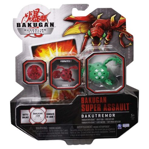 Bakugan Super Assault - Assortment – Colours & Styles May Vary