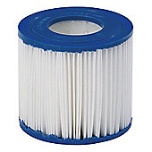 "Tesco 4.25"" X 3.74"" Swimming Pool Filter Cartridge, 2 Pack"