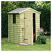 6x4 Timberdale Overlap Pressure Treated Shed