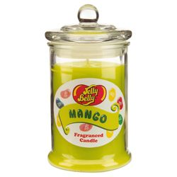 Jelly Belly Scented Candle Jar Mango