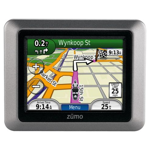 Motorbike Garmin Zumo 220 Satellite Navigation System for Motorbikes (Europe Maps) 3.5 inch