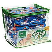 TotsBots 5 Pack Easyfit Starburst Print Reusable Nappies