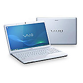 "Sony VPCEB4E1E Laptop (4GB, 320GB, 15.6"" Display) White"