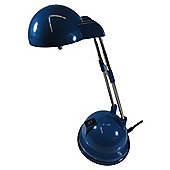 Tesco Lighting Tina halogen desk lamp blue