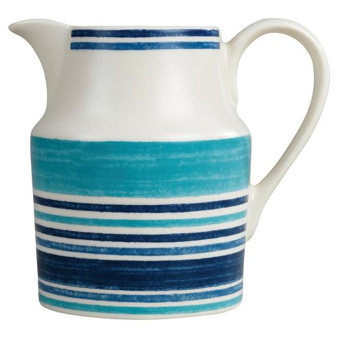 Johnson Bros 0.9L Blue Stripe Jug