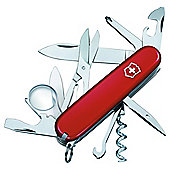 Victorinox Explorer Swiss Army Knife Multi-Tool, Red