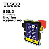 Tesco LC980 Yellow Printer Ink Cartridge (for Brother LC-980 Yellow )