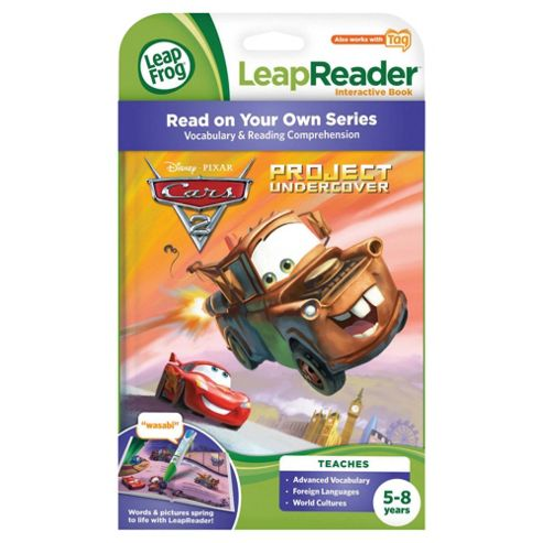 LeapFrog Tag Cars 2 Book
