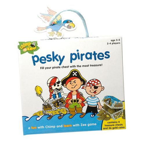 Chimp and Zee Pesky Pirates game