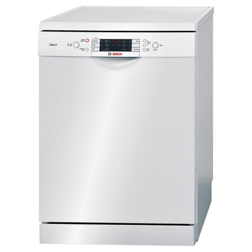 Bosch SMS53E22GB Full Size Dishwasher, A+ Energy Rating. White