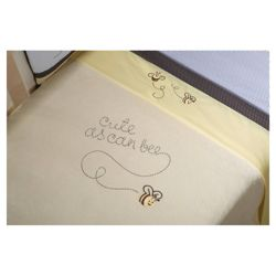 Kids Line Cute As Can Bee Boa Cot Bed Blanket