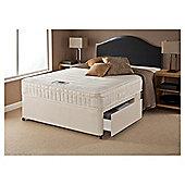Airsprung Danbury Memory Cushion Top Small Double 2 Drawer Divan Bed