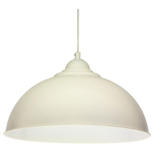 Tesco Lighting Milford Ceiling Fitting, Cream