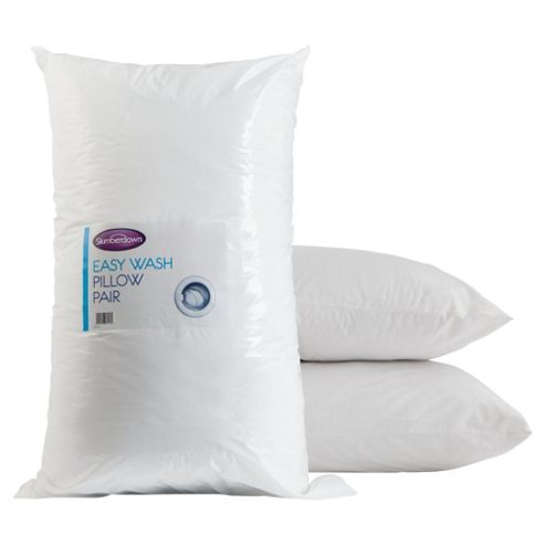 Slumberdown Easy Wash Pillows 2 Pack