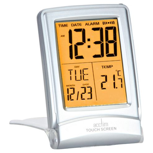 Acctim Travel Touchscreen Alarm Clock